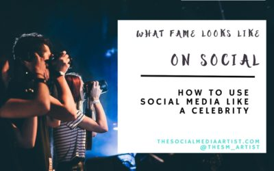 How to use Social Media like a Celebrity