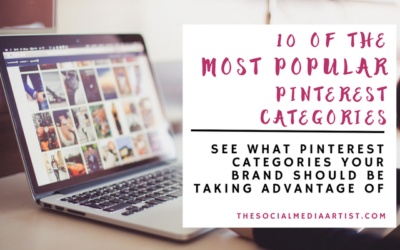 10 of the Most Popular Pinterest Categories