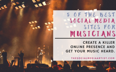 5 of The Best Social Media Sites for Musicians