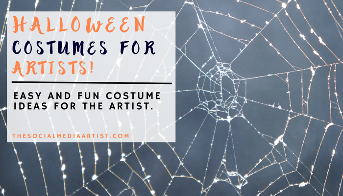 Halloween Costumes for Artists!